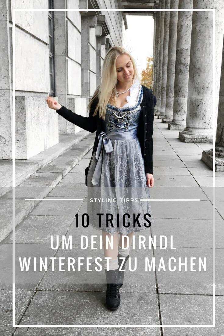 Dirndl im Herbst oder Winter, 10 Tipps und Tricks, Fashion Blog Katefully München Oktoberfest Tracht