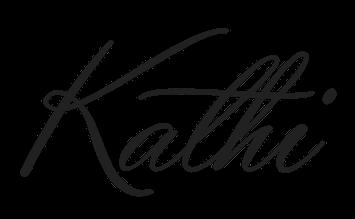 Kathi Schriftzug
