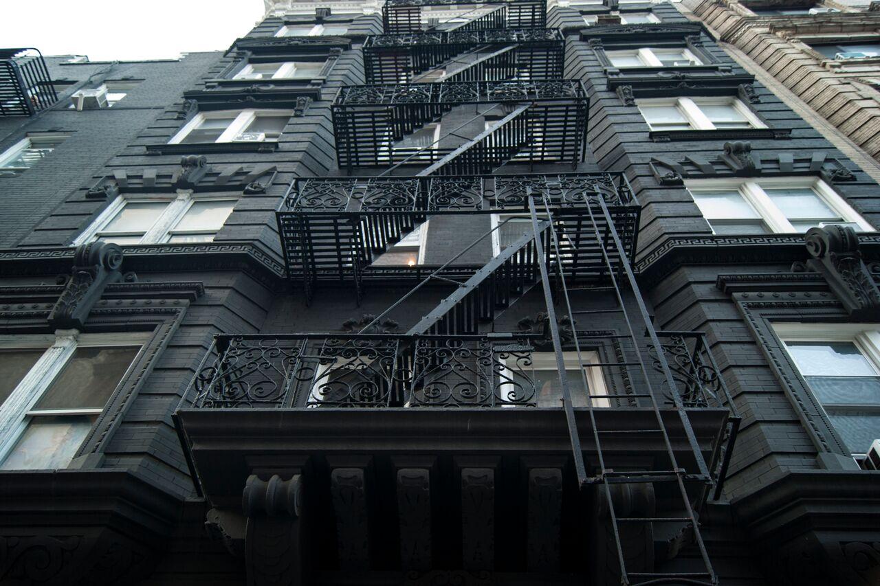 New York Sehenswürdigkeiten New York Häuserwand