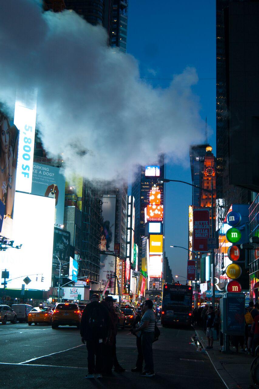 New York Sehenswürdigkeiten New York Times Square
