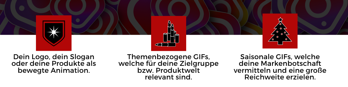 GIFs, GIF-Sticker, Giphy, Instagram, animierte Bilder, Social Media, Business Tipps, Influencer Marketing, Katefully, München, Deutschland