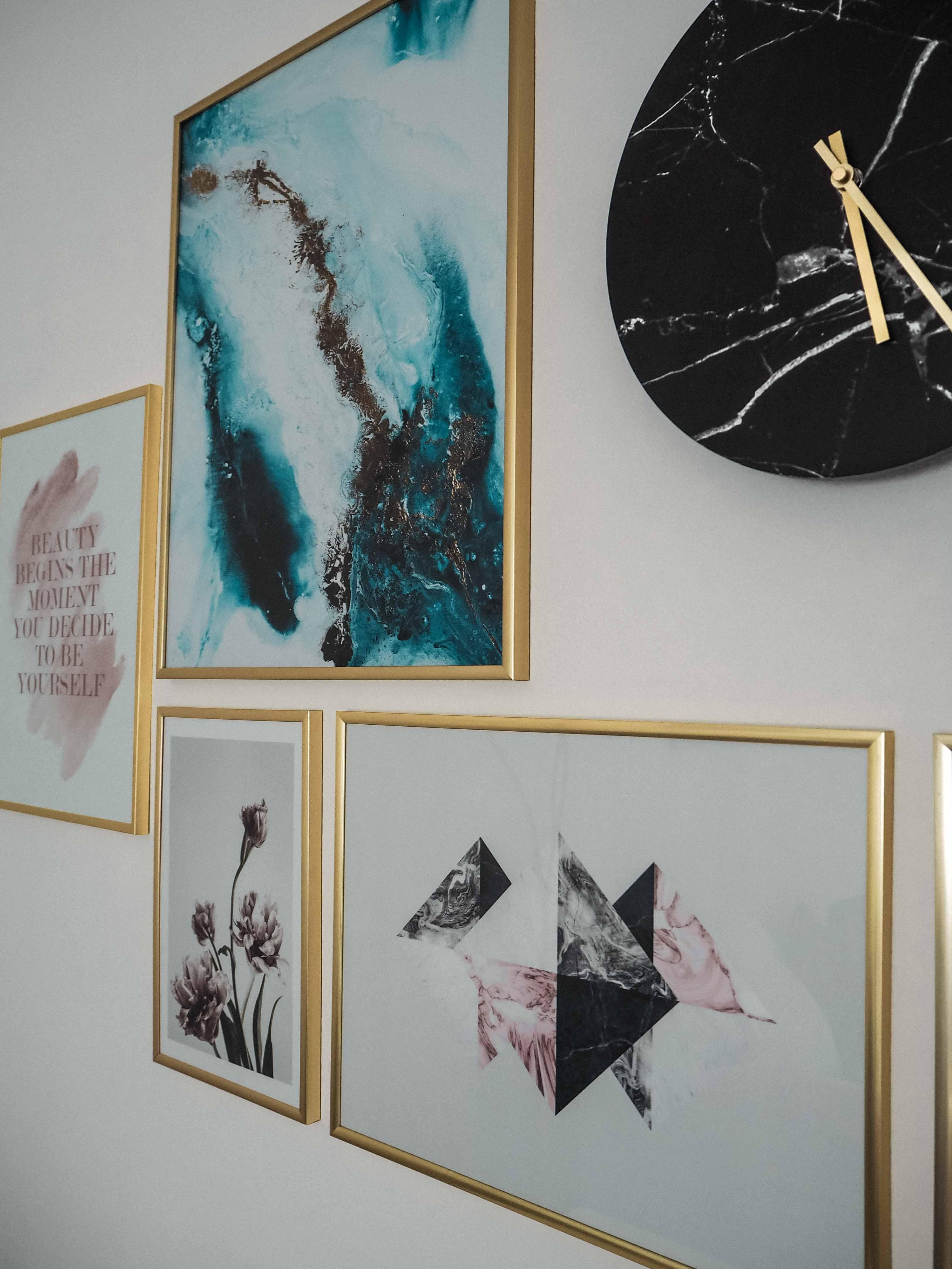 Bilderwand, Desenio, Katefully, Interior, Zuhause, Einrichtungsideen, Bilder, Design, Interiorideen, Tipps, Fashionblog, München, Wohnzimmer, Schlafzimmer gestalten