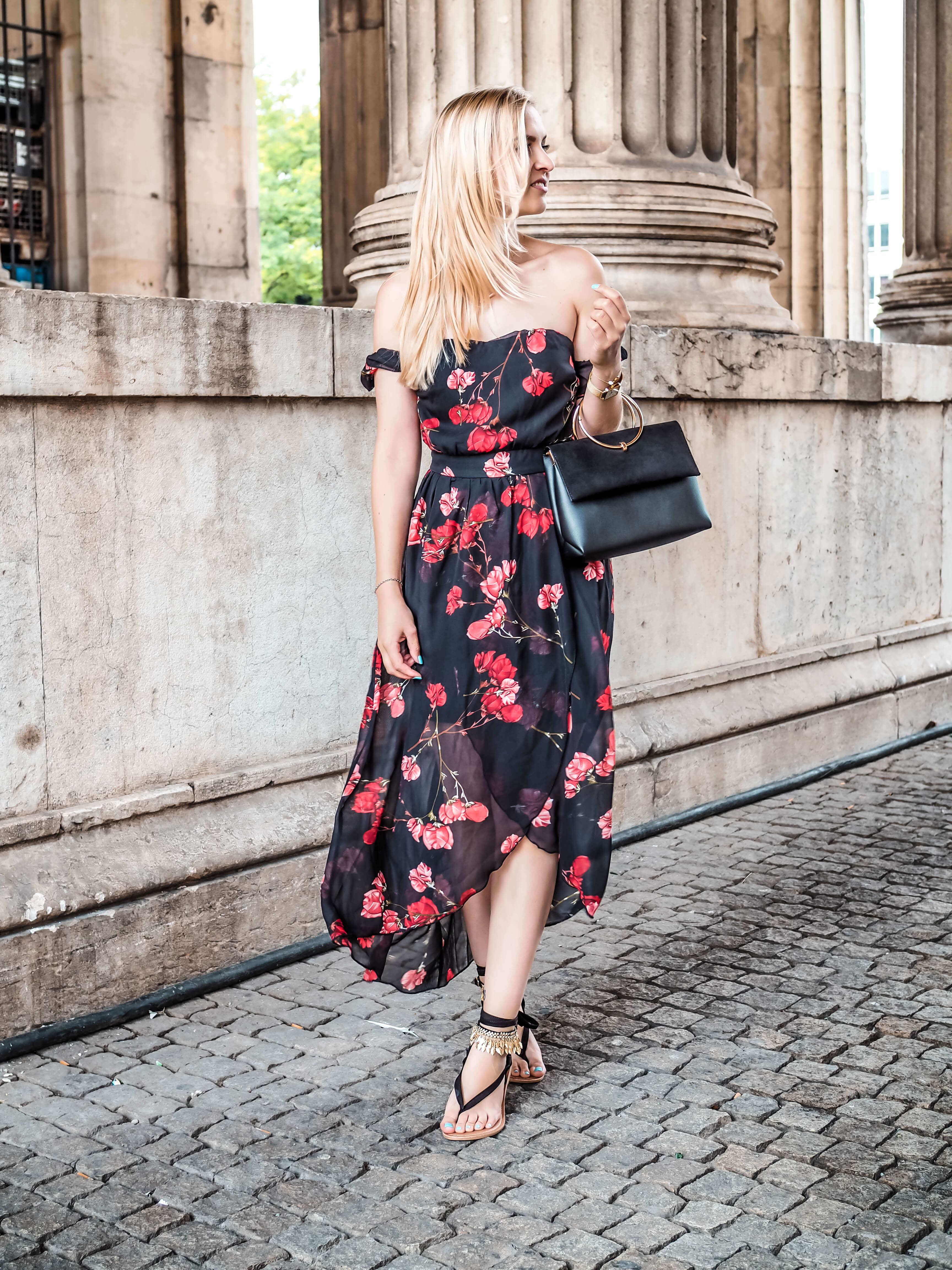 Maxikleid Midikleid Sommerkleid Katefully Kleid München Modeblog Fashionblog Modetipps Stylingtipps ootd lange Kleider Maxikleider
