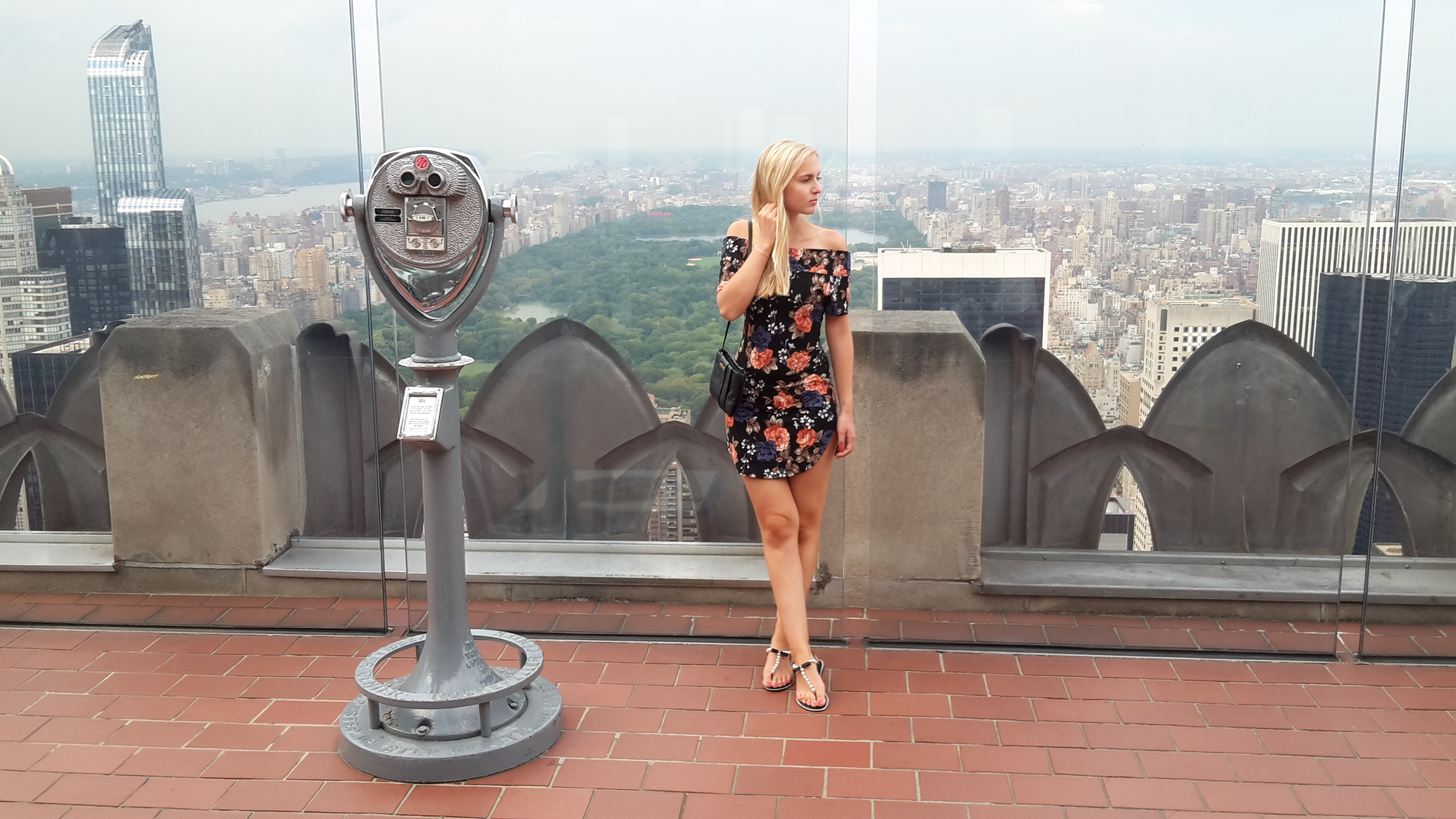 New York City Top of the Rock Rockefeller Center Blog Travelguide