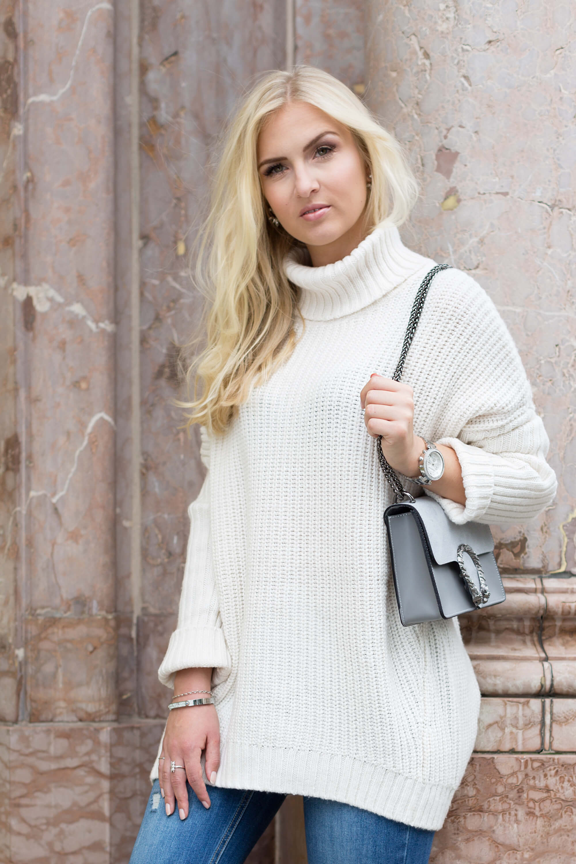 Strick Pullover Oversize Outfit Fashion Mode Blog Katefully