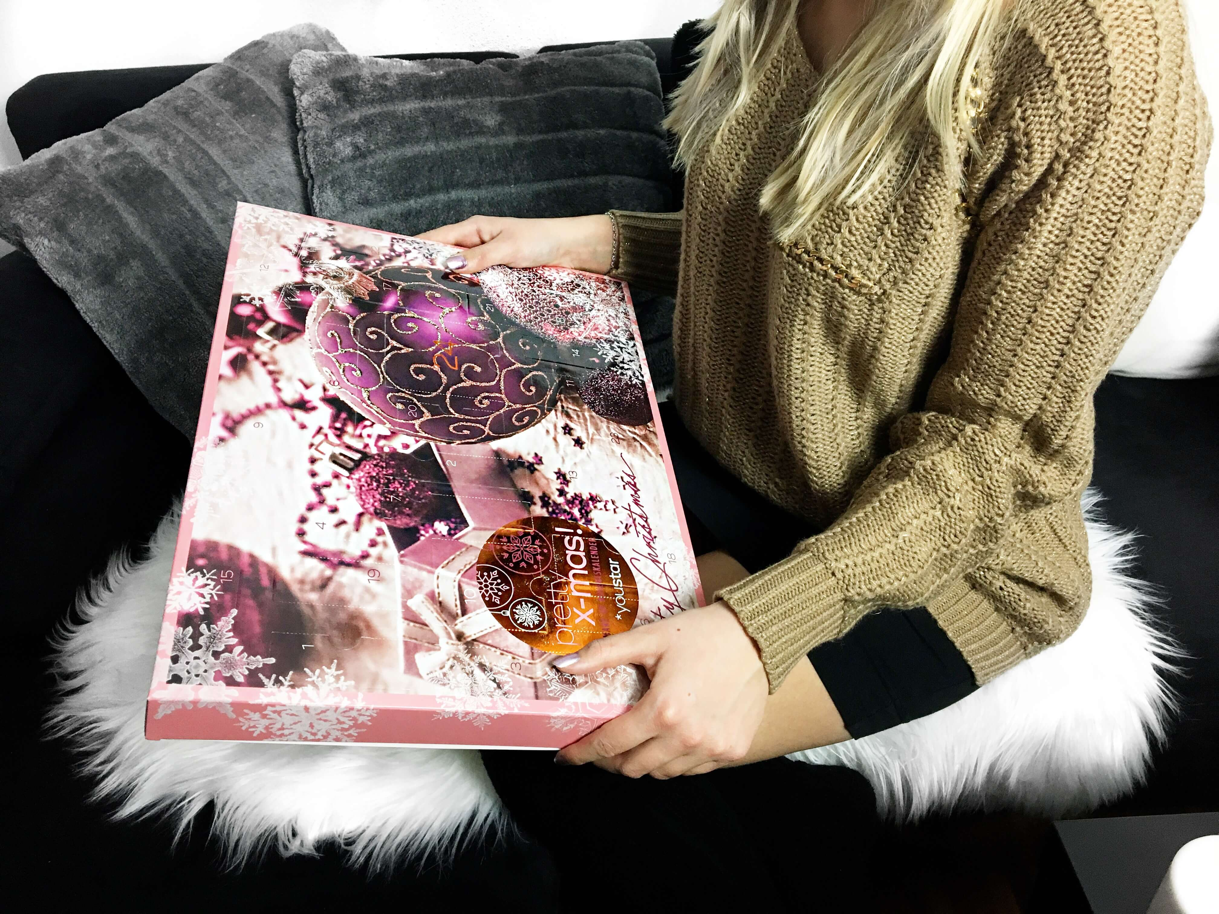 Weihnachtszeit Adventskalender Weihnachten Beauty Kosmetik Nagellack Kalender Fashion Mode Blog Gewinnspiel Bloggerin Katefully
