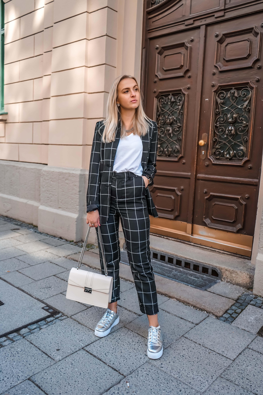 Zweiteiler, Fashionblog, Modeblog, München, Katefully, Anzug, Blazer, Modeinspiration, Outfit mit Blazer, Frühling, Munich, Styleseven